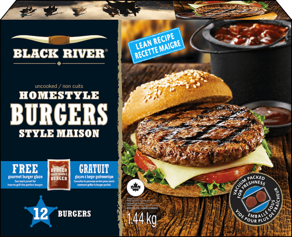 Burgers Black River Emballage de 1,44 kg