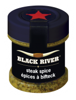 Black River steak spice bottle