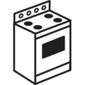 Icon of oven